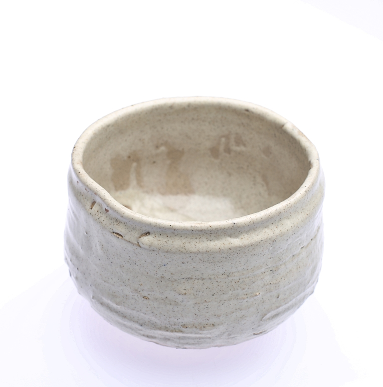 gas fire white bowl