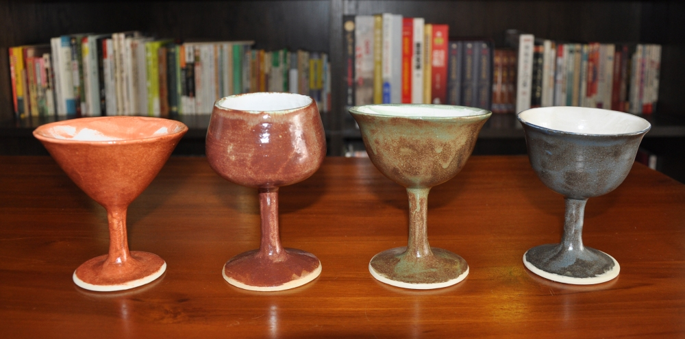 shino wine goblet